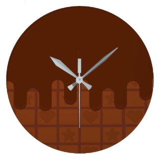 sugarparade Cocoa Ganache Wall Clock