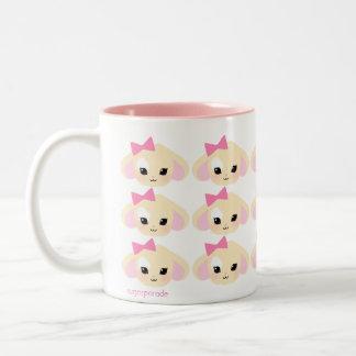 sugarparade taza blanca y rosada de Usagi-chan 11