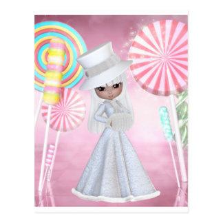 Sugarplum Fairy Postcard