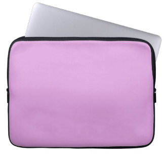 Sugarplum Lavender Purple Solid Color Background Computer Sleeves