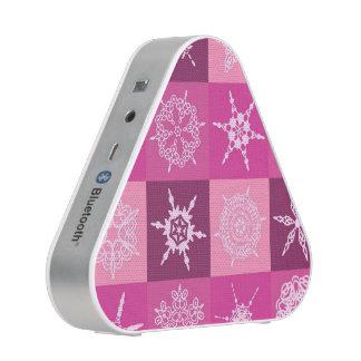 Sugarplum Pink Snowflake Collection Speaker