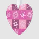 Sugarplum Pink Snowflakes Collection
