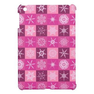 Sugarplum Snowflake Collection Designer iPad Mini Cases