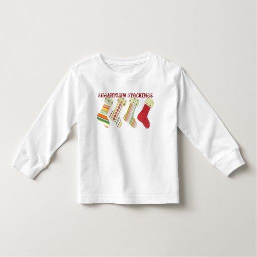 Sugarplum Stockings T Shirt
