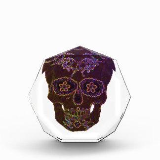 sugarskull2 acrylic award