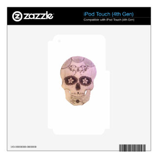 sugarskull iPod touch 4G decal