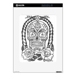 Sugarskull Tattoo Art By Sweetpieart Skin For The iPad