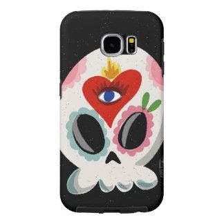 SugarSkull Third Eye Samsung Galaxy S6 Case