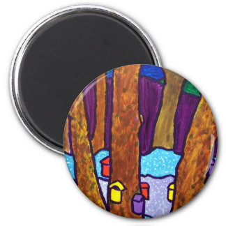 SugarTime by Piliero 2 Inch Round Magnet