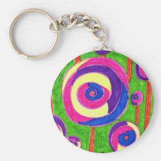 sugary key chain