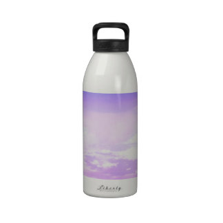 Sugary Sweet Pastel Sky Water Bottles