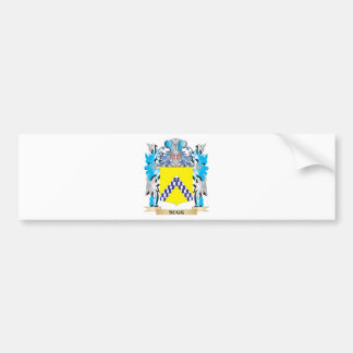 Sugg Coat of Arms - Family Crest Car Bumper Sticker