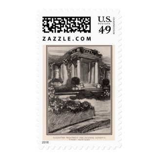 Suggested treatment for street frontages in SF Postage Stamps
