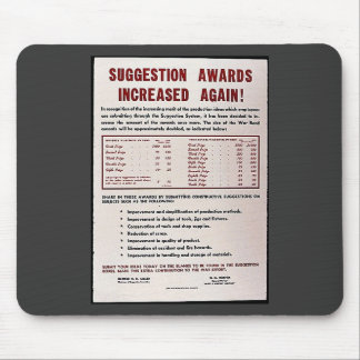 Suggestion Awards Increased Again Mouse Pad