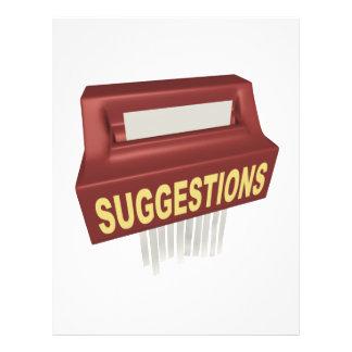 Suggestion Box Flyer