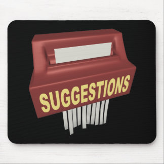 Suggestion Box Mouse Pad