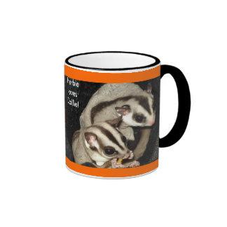 Suggie lovin'! ringer coffee mug