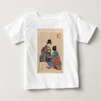 Sugoroku game by Toyohara Chikanobu T Shirt