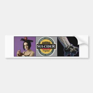 Sui-Cider Bumper Sticker