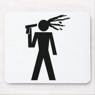 suicid piktogramm mousepad