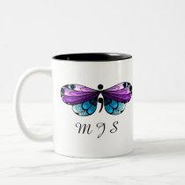 Suicide Awareness Butterfly Semicolon Mug