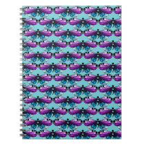 Suicide Awareness Butterfly Semicolon Notebook