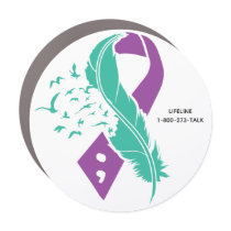 Suicide Awareness Car Magnet