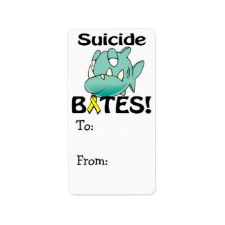 Suicide BITES Label
