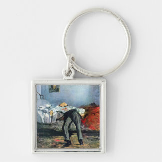 Suicide by Edouard Manet Keychain