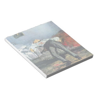 Suicide by Edouard Manet Memo Pads