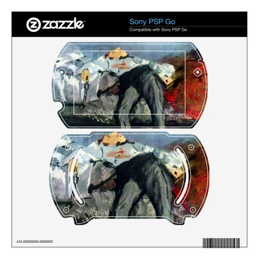 Suicide by Edouard Manet Skin For Sony PSP Go