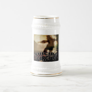 Suicide CD Cover Beer Stein