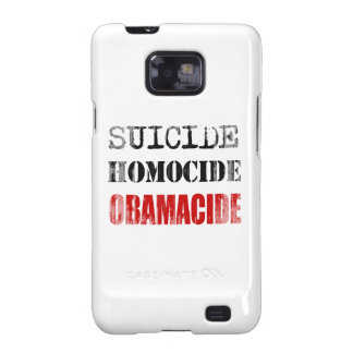 SUICIDE, HOMOCIDE, OBAMACIDE - Copy Faded.png Galaxy SII Cases