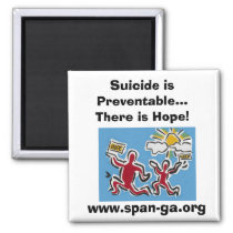 Suicide is Preventable... Magnet