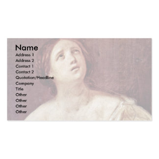 Suicide Of Lucretia By Reni Guido Business Card
