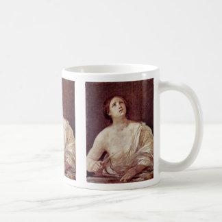 Suicide Of Lucretia By Reni Guido Classic White Coffee Mug