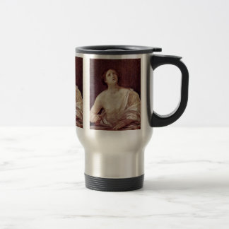 Suicide Of Lucretia By Reni Guido 15 Oz Stainless Steel Travel Mug