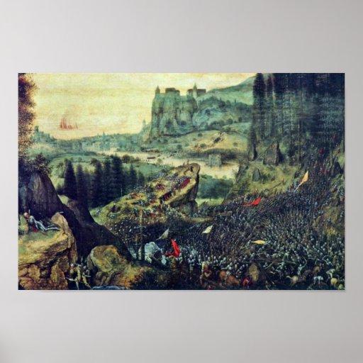 Suicide Of Saul By Bruegel D. Ä. Pieter (Best Qual Poster