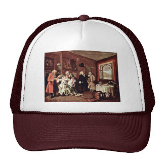 Suicide Of The Countess' By Hogarth William Trucker Hat