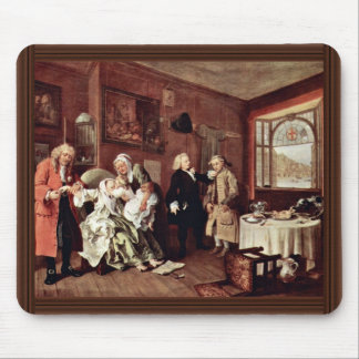 Suicide Of The Countess' By Hogarth William Mouse Pads