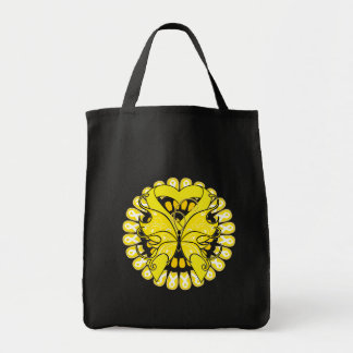 Suicide Prevention Awareness Circle of Ribbons Bag