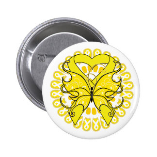 Suicide Prevention Awareness Circle of Ribbons Button