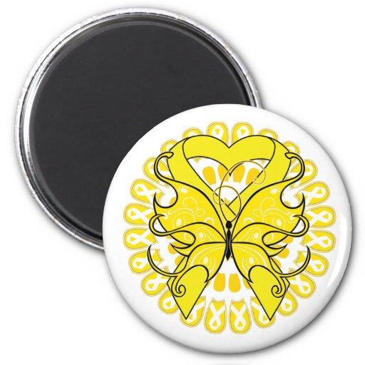 Suicide Prevention Awareness Circle of Ribbons Magnet