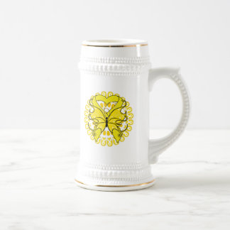 Suicide Prevention Awareness Circle of Ribbons Mugs