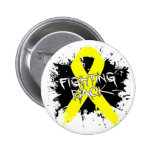 Suicide Prevention Awareness - Fighting Back Pinback Buttons