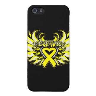 Suicide Prevention Awareness Heart Wings.png Cover For iPhone 5
