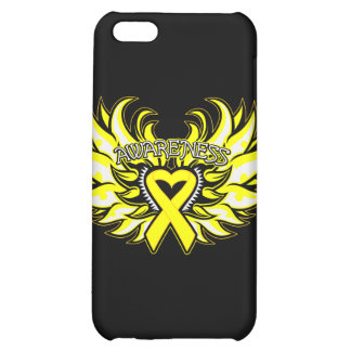 Suicide Prevention Awareness Heart Wings.png iPhone 5C Cases