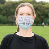 Suicide Prevention Awareness I Wear Face Mask