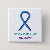 Suicide Prevention Awareness Ribbon Pin Buttons
