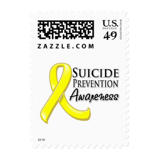 Suicide Prevention Awareness Ribbon Stamps